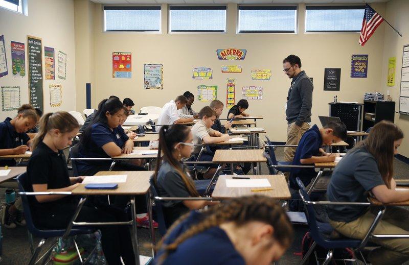 Las Vegas Schools Open New Schools and Hire New Teachers